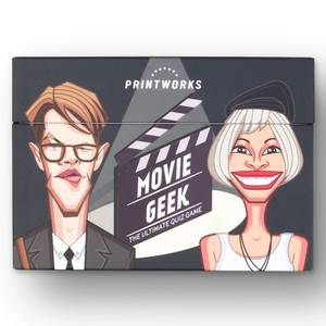 Printworks Movie Geek Trivia Game