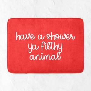 Have A Shower Ya Filthy Animal Bath Mat