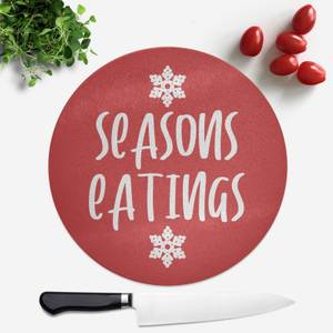 Seasons Eatings Round Chopping Board