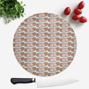 Pigs In Blankets Round Chopping Board