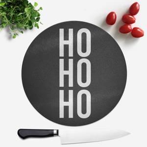 Ho Ho Ho Round Chopping Board