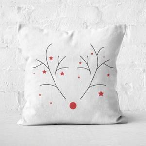 Rudolph Square Cushion