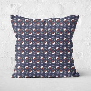 Christmas Pud Square Cushion