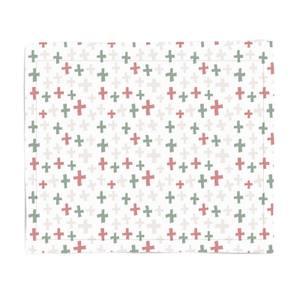 Christmas Cross Fleece Blanket