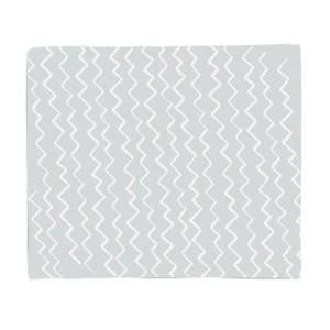 Wavy Lines Fleece Blanket