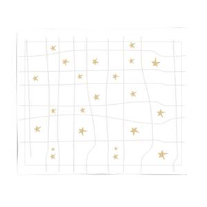 Star Grid Fleece Blanket