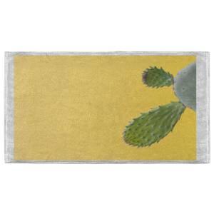 Yellow Cactus Fitness Towel
