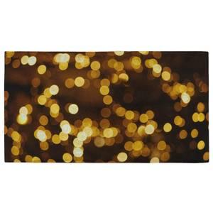 Christmas Lights Fitness Towel