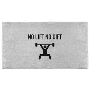 No Lift No Gift Fitness Towel