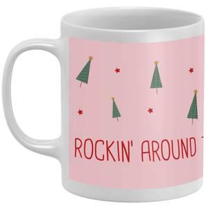 Rockin' Around The Christmas Tea Mug