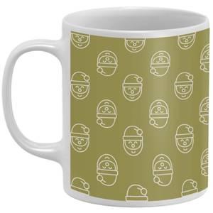 Santa Pattern Mug