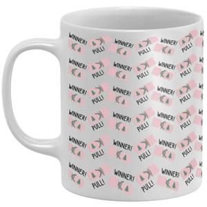 Winner! Pull! Cracker Mug