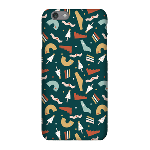 Christmas Pattern Green Phone Case for iPhone and Android