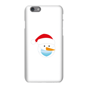 Christmas Covid Snowman Phone Case for iPhone and Android