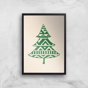 Patterned Tree Giclee Art Print
