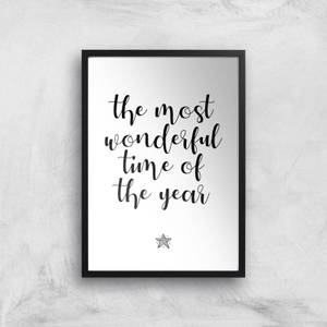 The Most Wonderful Time Of The Year Giclee Art Print