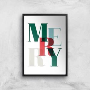 Merry Giclee Art Print