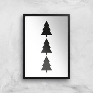 Christmas Tree Giclee Art Print