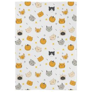 Cats At Christmas Tea Towel