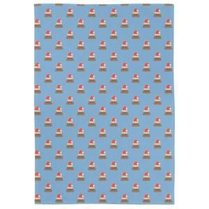 Christmas Poop Tea Towel