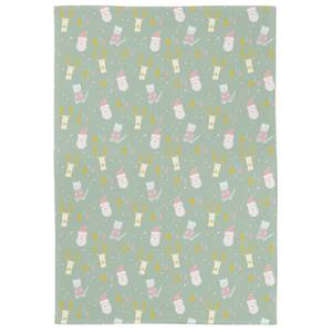 Cute Christmas Print Tea Towel