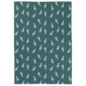 Green Christmas Tea Towel