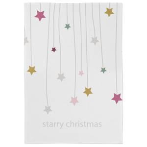 Starry Christmas Tea Towel