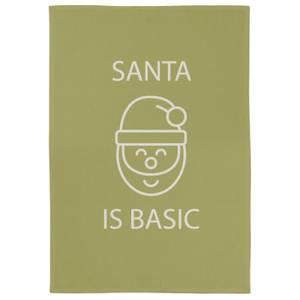 Santa Is Basic Tea Towel