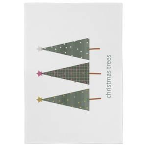 Christmas Trees Tea Towel