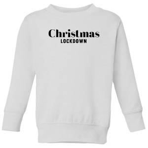 Christmas Lockdown Kids' Sweatshirt - White