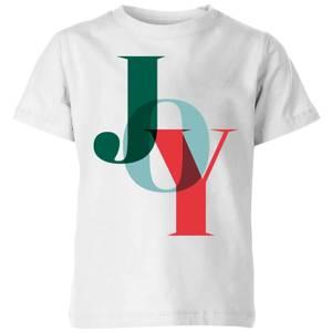 Graphical Joy Kids' T-Shirt - White