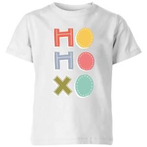 Ho Ho Xo Kids' T-Shirt - White