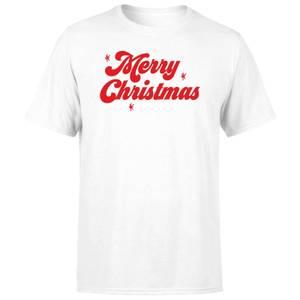 Merry Christmas Men's T-Shirt - White