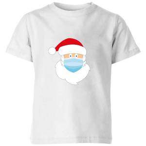 Covid Santa Kids' T-Shirt - White