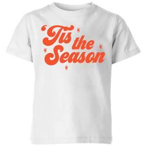 Tis The Season Kids' T-Shirt - White
