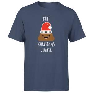Shit Christmas Jumper Men's T-Shirt - Navy