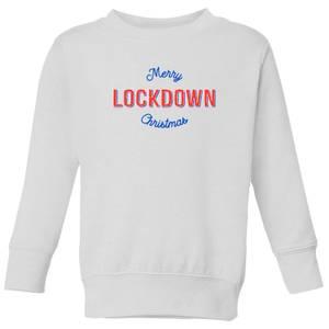 Merry Lockdown Christmas Kids' Sweatshirt - White