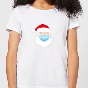 Covid Santa Women's T-Shirt - White