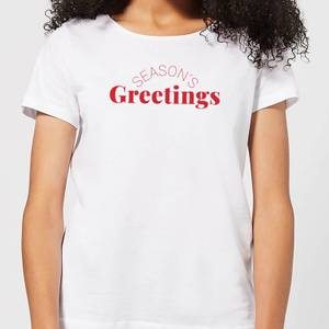 Season's Greetings Women's T-Shirt - White