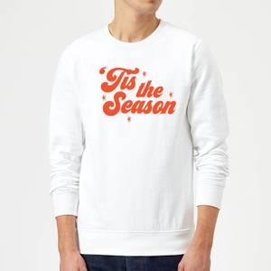 Tis The Season Sweatshirt - White