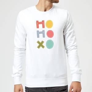 Ho Ho Xo Sweatshirt - White
