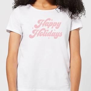 Happy Holidays Women's T-Shirt - White