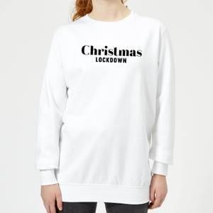 Christmas Lockdown Women's Sweatshirt - White