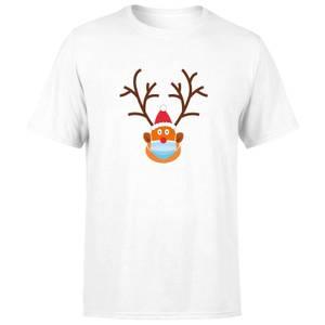 Covid Rudolph Men's T-Shirt - White