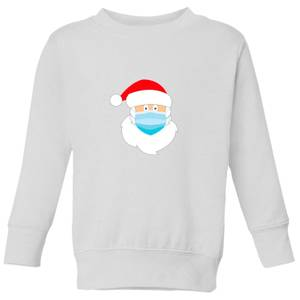 Covid Santa Kids' Sweatshirt - White