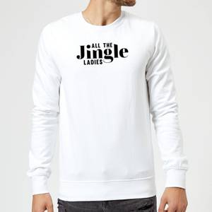 All The Jingle Ladies Sweatshirt - White