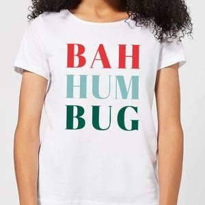 Bah Hum Bug Women's T-Shirt - White