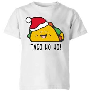 Taco Ho Ho! Kids' T-Shirt - White