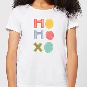 Ho Ho Xo Women's T-Shirt - White