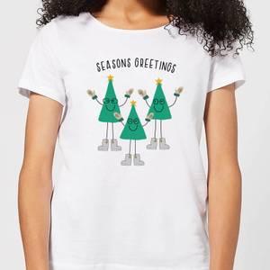 Seasons Greetings Women's T-Shirt - White